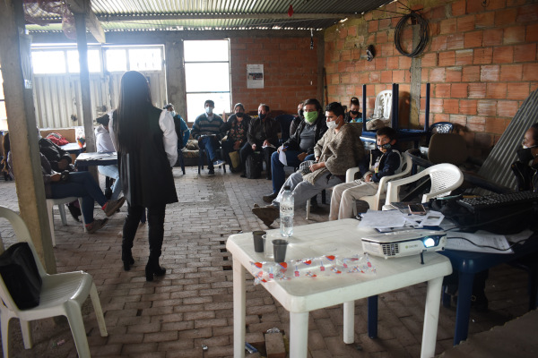 Iniciaron las reuniones de socialización de estudios y diseños para el alcantarillado de Mochuelo