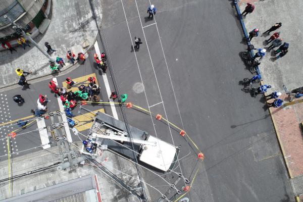 Bogotá avanza en la modernización del alumbrado público