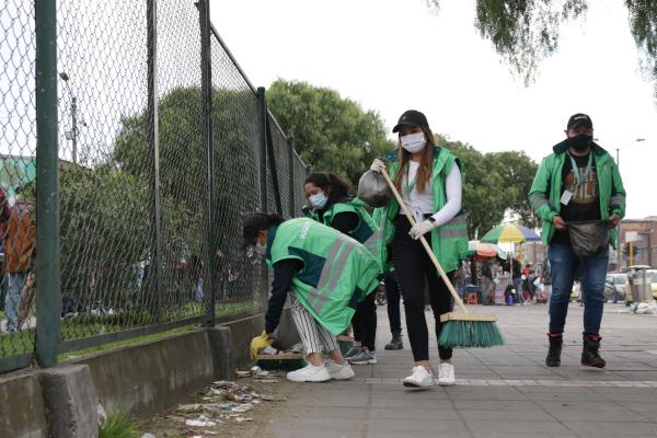 La UAESP corrió carrera por la limpieza