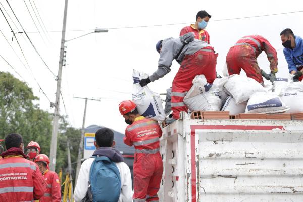 La comunidad de San Cristóbal se apropia de la estrategia Juntos Limpiamos Bogotá