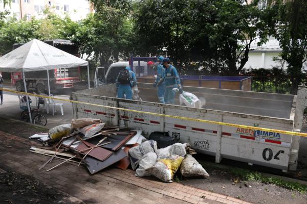 Recicladores se suman a la estrategia del Distrito Juntos Limpiamos Bogotá