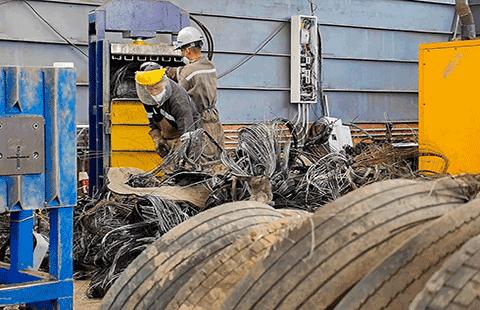 Recolección de Neumáticos en Ciudad Bolívar