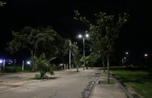 Nueva iluminación para la ciclorruta que conecta a El Tintal con Fontibón