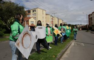 Bogotá y Cajicá intercambian experiencias de aprovechamiento de residuos